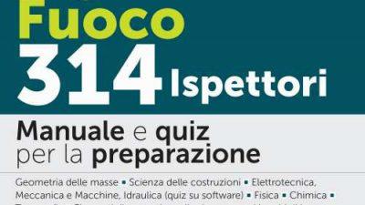 CONCORSO VIGILI DEL FUOCO 314 ISPETTORI Edizioni Simone