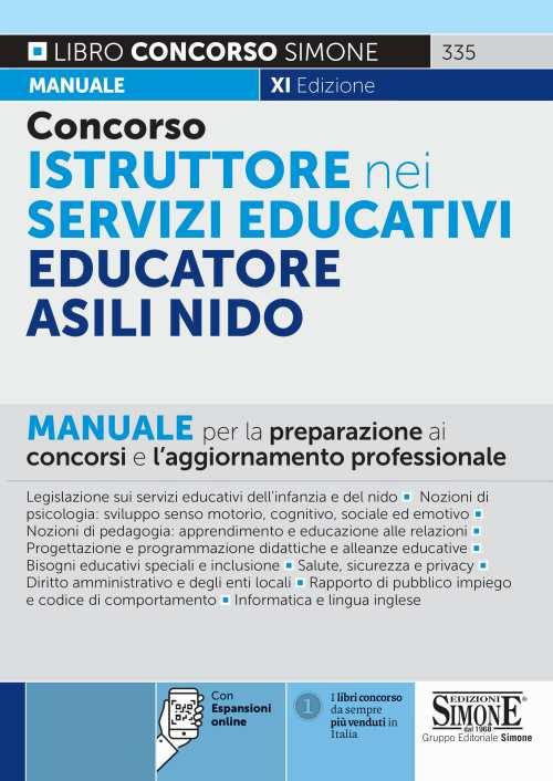 concorso istruttore nei sevizi educativi edizioni simone