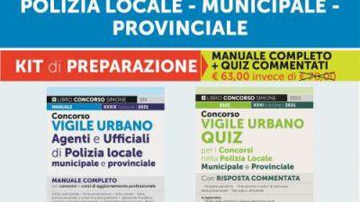 CONCORSO VIGILE URBANO – KIT DI PREPARAZIONE Edizioni Simone